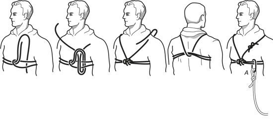 Как сделать обвязку из верёвки 841